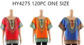 120 Units of One Size Fits Most Kaftan Top Assorted Colors
