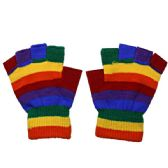 72 Units of Fingerless Rainbow Glove