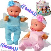 24 Units of Talking Little Happy Baby Dolls