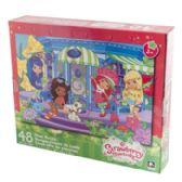 36 Units of Puzzle 48pc Strawberry Shortcake Floor Size 24x36 3 Assorted - Closeouts