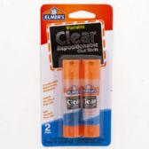 96 Units of School Glue Sticks 4ct Elmers 3-disappearing Prpl,1 Clr - Closeouts