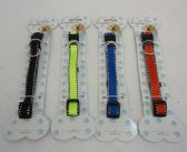 """36 Units of 15"""" Nylon Buckled Dog Collar [Solid Color]-Small"""