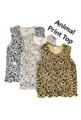 36 Units of Strawberry Girl Singlet In Animal Prints - Baby Apparel