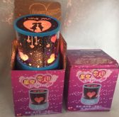 48 Units of Light Up Star/Heart Projector Valentines Day - Valentine Decorations