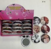 240 Units of Cosmetic Pocket Plastic Mirrors