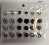 180 Units of Fashion Earrings Assorted Styles