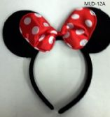 240 Units of EAR HEAD BAND IN MINNIE MOUSE RED