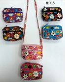 180 Units of GIRL COIN PURSES ASSORTED COLOR FLOWERS