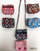 180 Units of GIRL COIN PURSES ASSORTED COLOR