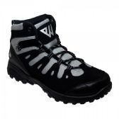12 Units of High Top Sneakers In Black And Grey - Mens Work Boots