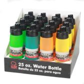 16 Units of Water Bottle,Frosted, PDQ 16 pc.