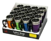 16 Units of Coffee Mug With /Handle PDQ 16 oz., - Coffee Mugs