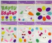 72 Units of Easter Window Gel Cling