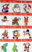 72 Units of Christmas Window PVC Cling