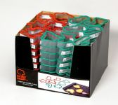 1 Units of Christmas Cookie Cutters Shelf Display, 96