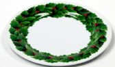 "24 Units of Plate 10"" -Christmas, Round"