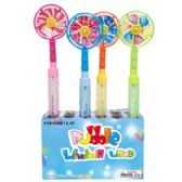 96 Units of Bubble Wand With/windmill Top