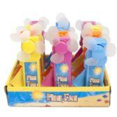 36 Units of Fan Mini Hand Held Manually Operated - Novelty Toys