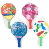 32 Units of Paddle Ball Beach Game Set - Beach Toys