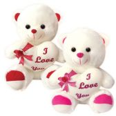 """6 Units of 20"""" Bear With/Heart"""