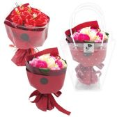 60 Units of Soap Rose In Bag