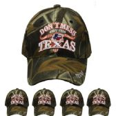 36 Units of Dont Mess With Texas Baseball Cap