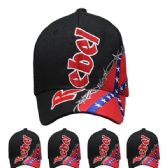 36 Units of Rebel Baseball Cap