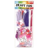 24 Units of Craft value pack 300 Count - Valentine Cut Out's Decoration