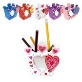 96 Units of Valentines Pencil holder - Valentine Decorations