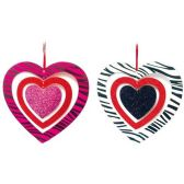 96 Units of Valentines day Plaque - Valentine Cut Out's Decoration