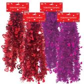96 Units of V-day garland 8.5ft - Valentine Decorations