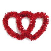 "108 Units of 18"" V-day tinsel decoration - Valentine Decorations"