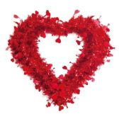 "36 Units of 18"" V-day tinsel decoration - Valentine Decorations"