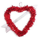 96 Units of V-day tinsel decoration - Valentine Decorations