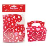144 Units of Six Pack Treat Boxes - Valentine Gift Bag's