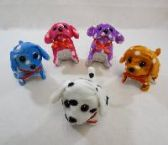 48 Units of BARKING AND WALKING DOG [SPOTTED] - Plush Toys