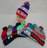 24 Units of KNIT HAT WITH POMPOM [SORRY I'M FRESH]