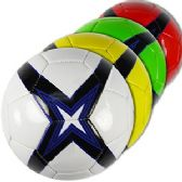 20 Units of OFFICIAL SIZE CROSSED STAR SOCCER BALLS.