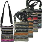 48 Units of LARGE GEOMETRIC MESSENGER BAGS