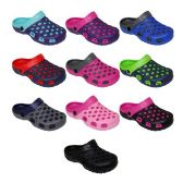 60 Units of Kids Clogs Assorted Colors - Unisex Footwear