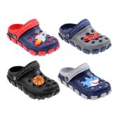 60 Units of Boy's Clogs Assorted Colors And Styles