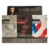 6 Units of 12 piece Counter Top Display 4 each of 3 fragrances For Men Our Versions of: CK One, Drakkar Noir, Polo Sport