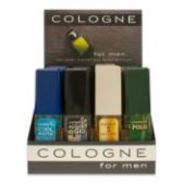 144 Units of Cologne To Go 15 ml / 0.50 oz. Sprays