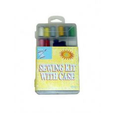 72 Units of Sewing kit with case - SEWING KITS/NOTIONS