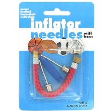 72 Units of Inflating needles with hose - Footwear Accessories