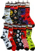 12 Pairs excell Women's Halloween Novelty Cute Socks (Assorted B) - Womens Crew Sock