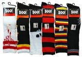 12 Pairs excell Women's Halloween Novelty Cute Socks (6 Pairs Assorted Over the Knee) - Womens Knee Highs