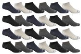 10 Units of Yacht & Smith Mens Ankle Socks, No Show Athletic Sports Socks 30 Pair Pack - Mens Ankle Sock