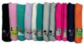 12 Pairs of Women's Solid Animal Soft Fuzzy Socks, Size 9-11 - Womens Fuzzy Socks