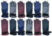 12 Pack of excell Womens Winter Warm Waterproof Ski Gloves, One Size Fits All - Ski Gloves